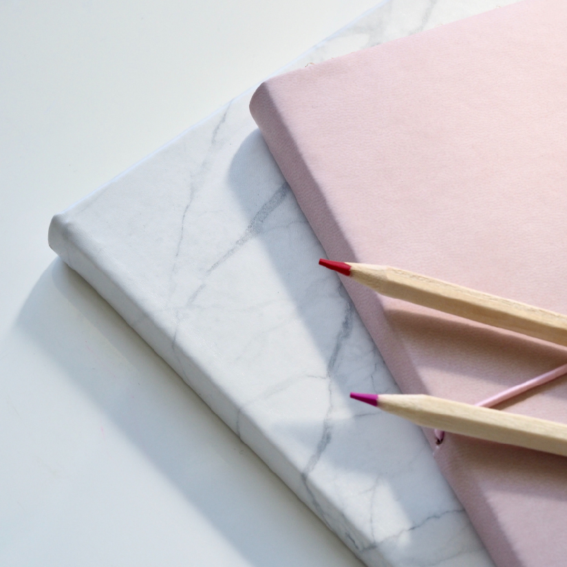 Rebrand Fearlessly notepads